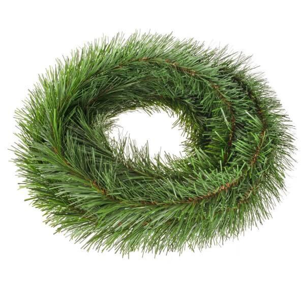 Girlande für Weihnachtsbaum Hellgrün