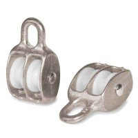 Vorschau: Doppelseilrolle 40mm Seilrolle doppelt