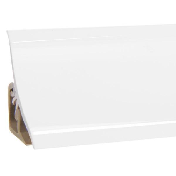 Küchenleiste 23x23mm Abschlussleiste Küche Arbeitsplatte - 600 Weiß