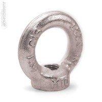 Vorschau: Ringmutter M8 Ringmuttern DIN Kranöse Zurröse verzinkt