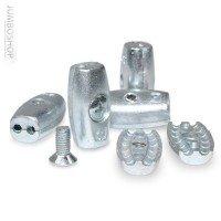 Vorschau: Drahtseilklemme EIFORM 3mm Seilklemmen Aluminium