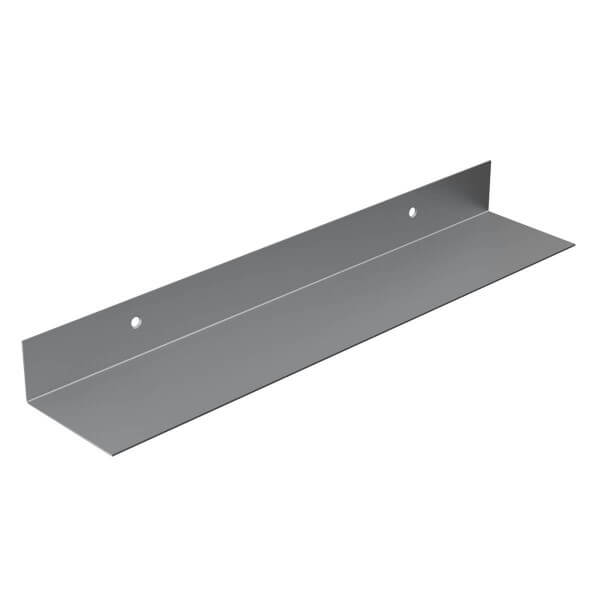 Metall Wandregal Schweberegal Hängeregal Wandboard 100x50 mm L-Form HLMW-02A