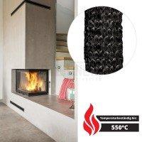 Vorschau: Glasfaser Dichtschnur selbstklebend für Kamin und Ofen SKD03