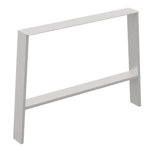 Design Tischkufen A-Form aus Vierkantprofilen 80x40 mm, a-förmiges Tischgestell Tischbeine HLT-16-B