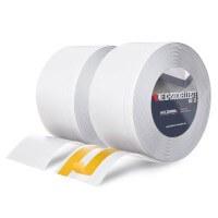 Vorschau: Weichsockelleiste WEISS Knickleiste Profil 100x25mm