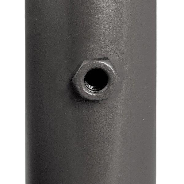 Sonnenschirmständer für Bodenhülse Innendurchmesser 29 mm Anthrazitgrau