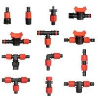 Vorschau: T-Stück 2x 5/8 1x 3/4 Zoll Rohrverbinder für Rohrabzweigung von Verlegerohr oder Tropfschlauch