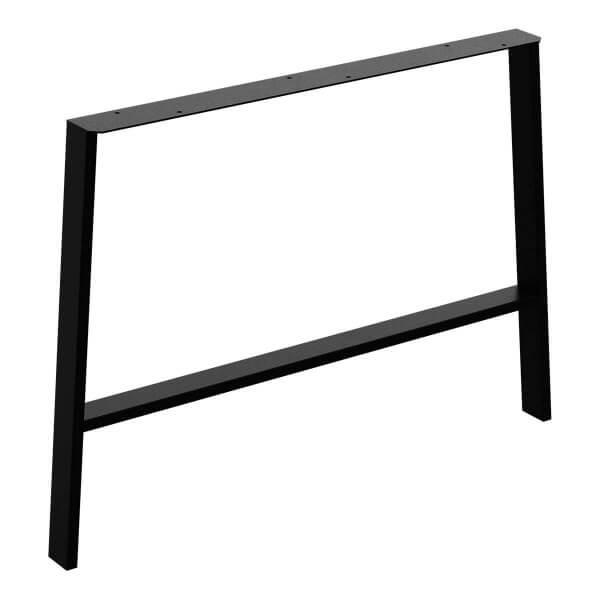 Design Tischkufen A-Form aus Vierkantprofilen 60x30 mm, a-förmiges Tischgestell Tischbeine HLT-16-D