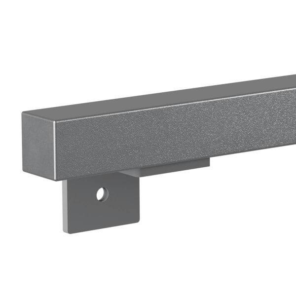Treppenhandlauf aus Stahl Profil 40x40 mm Handlauf Treppengeländer Wandhandlauf HLH-02