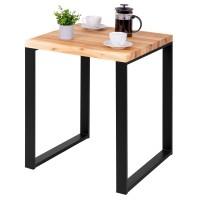 Vorschau: Kompakter Küchentisch mit gerader Tischkante 60x60x76 cm