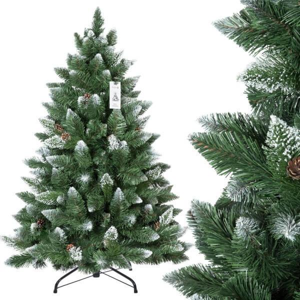 Kunstlicher Weihnachtsbaum Kiefer Natur Weiss Beschneit Jumbo Shop