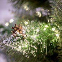 Vorschau: 20m LED Lichterkette für Weihnachtsbaum LEDs 1000 Weihnachtsbaumbeleuchtung