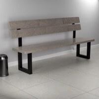 Vorschau: Rückenlehnenhalter Lehnenhalter für Sitz, Bank, Bett HLMR-01