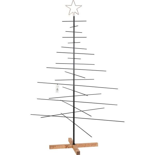 Metalltanne, Weihnachtsbaum aus Metallstäben