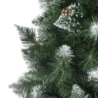Vorschau: künstlicher Weihnachtsbaum KIEFER Natur-Weiss beschneit