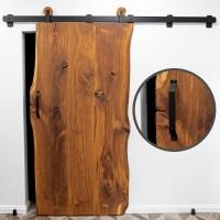 Vorschau: Türgriff für Schiebetür, trapezförmig, DIY-Möbel HLMG-01
