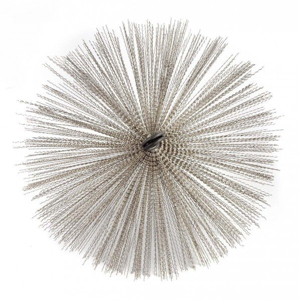 Kaminbesen 20 cm Schornsteinbesen aus Edelstahl M12