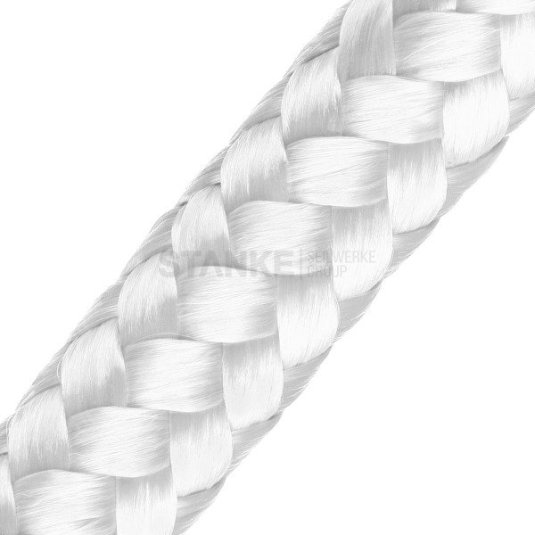14mm POLYPROPYLEN SEIL PP Seil Polypropylenseil WEISS