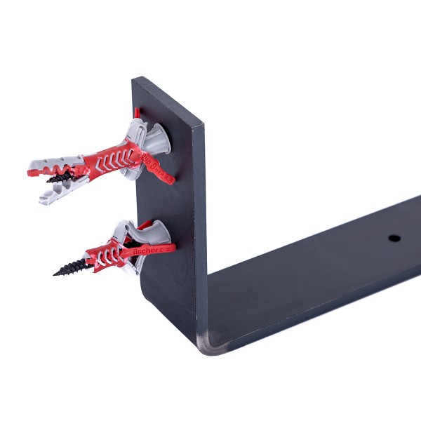 Stabile Regalhalterung aus Metall, DIY-Wandregal HLR-J