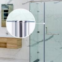 Vorschau: Duschdichtung Magnet Magnetduschdichtung SET 201cm UKM04 180° Grad Dichtung Fünfeck Dusche