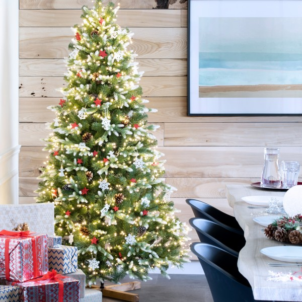 künstlicher Weihnachtsbaum NORDMANNTANNE EDEL WEISS