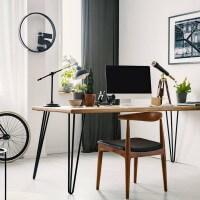 Vorschau: Haarnadel Tischbeine, 3-Stangen Bein, Tischkufen Tischfüße Hairpin Legs DIY, HLT-13A