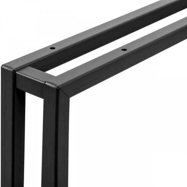 Tischbeine aus Vierkantprofilen 20x20 mm für Schreibtisch, Couchtisch oder Esstisch
