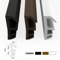 Vorschau: Flügelfalzdichtung für Fenster und Tür SFD-14 Weiss
