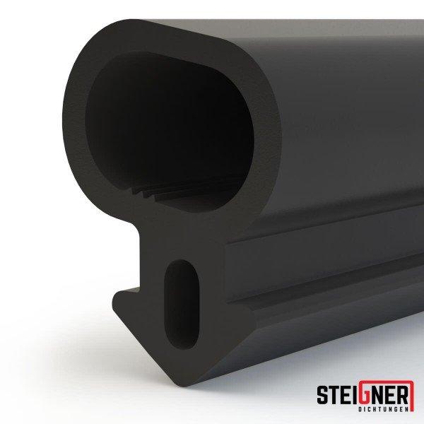 1m Fensterdichtung schwarz SFD06-S Gummidichtung TPE Dichtung Fenster Tür