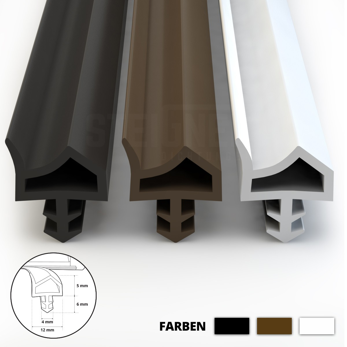 fensterdichtung t rdichtung zimmert rdichtung schlauchdichtung gummidichtung ebay. Black Bedroom Furniture Sets. Home Design Ideas