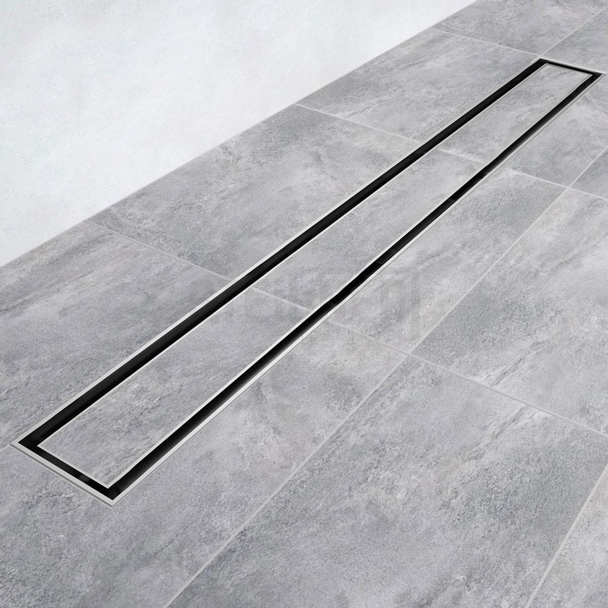duschelement duschrinne edelstahl siphon ablaufrinne befliesbar rinne dusche bad ebay. Black Bedroom Furniture Sets. Home Design Ideas